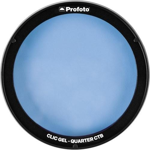 Profoto Clic Gel blau - Vorderseite