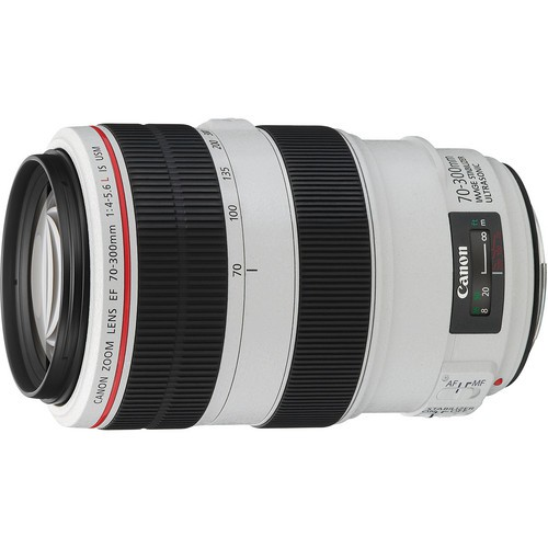 Canon EF 70-300mm f/4-5.6 L IS USM Objektiv - Frontansicht