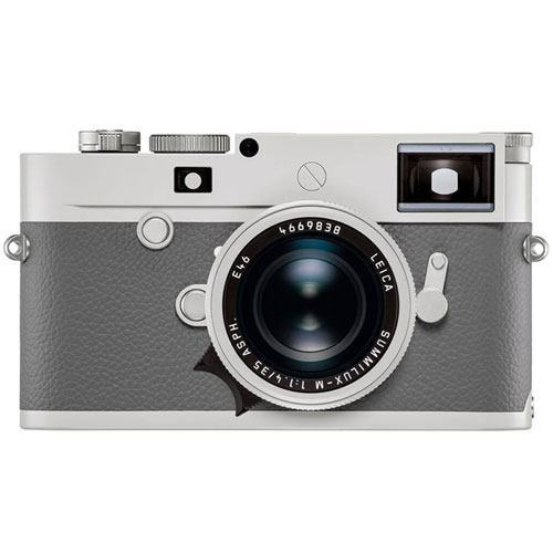"Leica M10-P ""Ghost Edition"" for Hodinkee - Frontansicht"