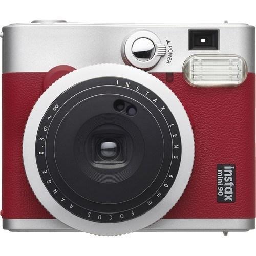 Fujifilm Instax Mini 90 Neo Classic rot - Frontansicht