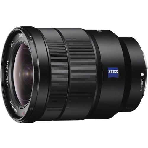 Sony Vario-Tessar T* FE 16-35mm f/4 ZA OSS Objektiv - Frontansicht