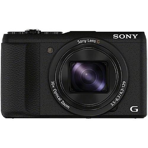 Sony DSC-HX60V Kompaktkamera - Frontansicht