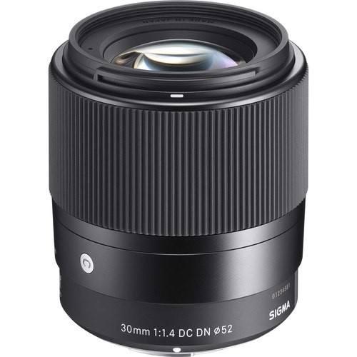 Sigma 30mm f/1.4 DC DN Contemporary Objektiv für Canon M - Schraägasnicht