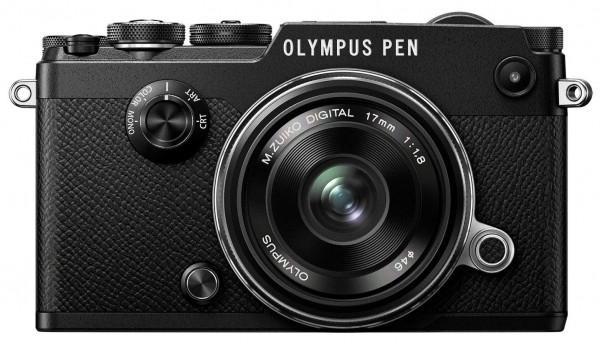Olympus PEN-F Kit - Frontansicht