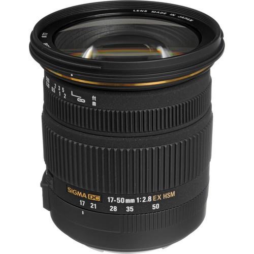 Sigma 17-50 mm f/2.8 EX DC OS HSM Objektiv für Canon