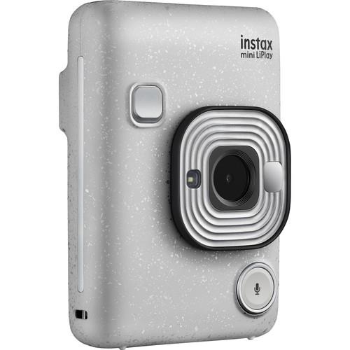 Fujifilm Instax Mini LiPlay Hybrid Sofortbildkamera - Schrägansicht