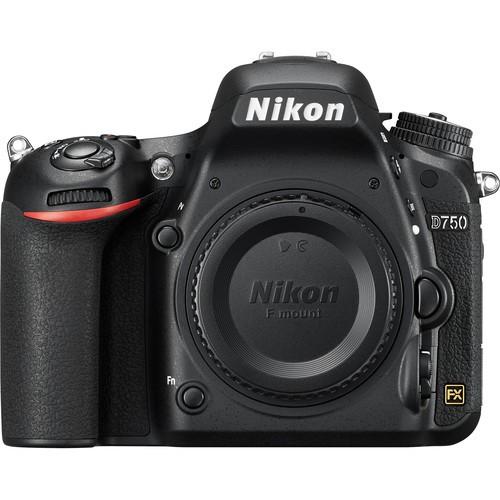 Nikon D750 Gehäuse - Frontansicht