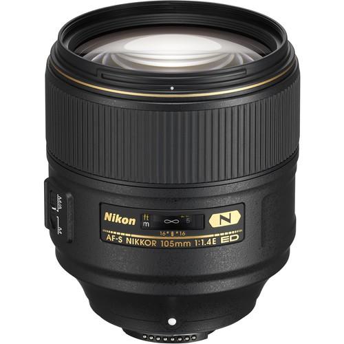Nikon AF-S Nikkor 105mm f/1.4E ED Objektiv