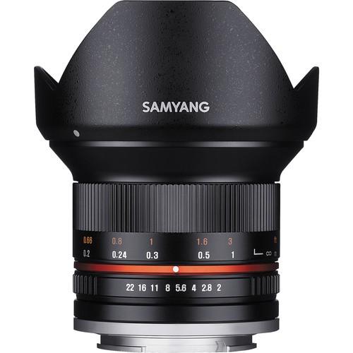 Samyang 12mm f/2 für Fujifilm X Objektiv - Frontansicht