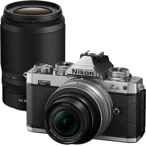 Nikon Z fc Kit mit Z DX 16-50mm f/3.5-6.3 VR (SE) und Z DX 50-250mm f/4.5-6.3 VR Objektiven