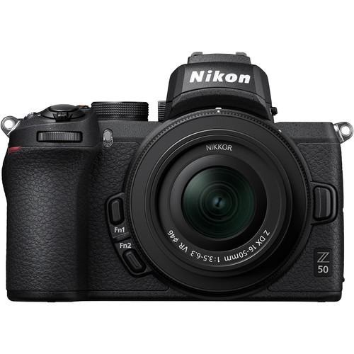 Nikon Z50 Kit mit DX 16-50 & FTZ Objektiv Adapter