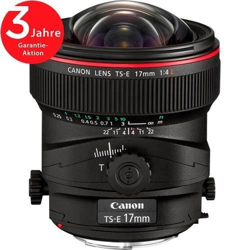 Canon TS-E 17mm f/4 L Objektiv