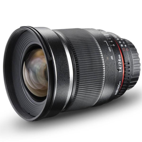 Walimex 24mm f/1.4 Pro Objektiv für Nikon