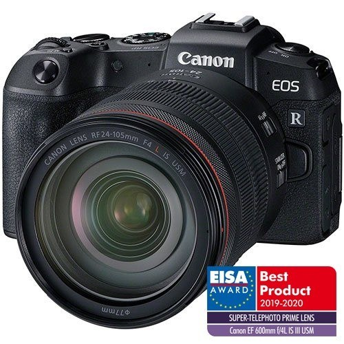Canon EOS RP Kit - Frontansicht mit extra Logo Eisa
