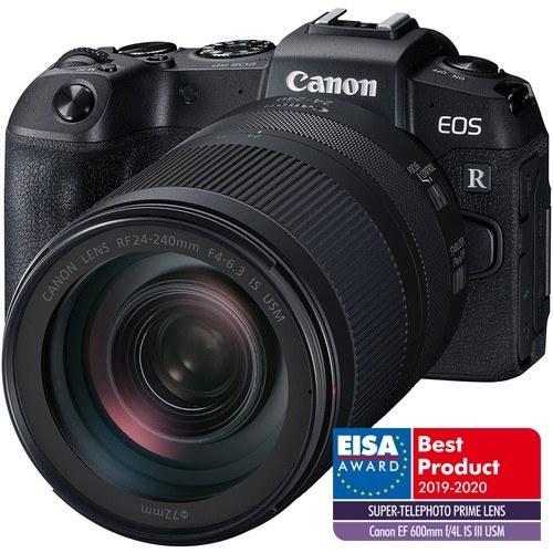 Canon EOS RP Gehäuse - Frontansicht mit extra Loggo Eisa
