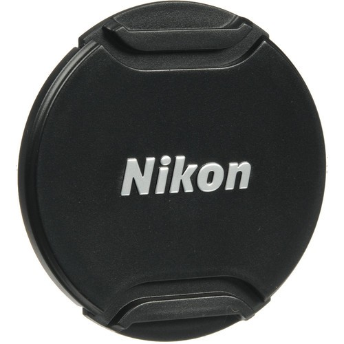 Nikon 55mm Objektivdeckel (LC-N55) - Frontansicht