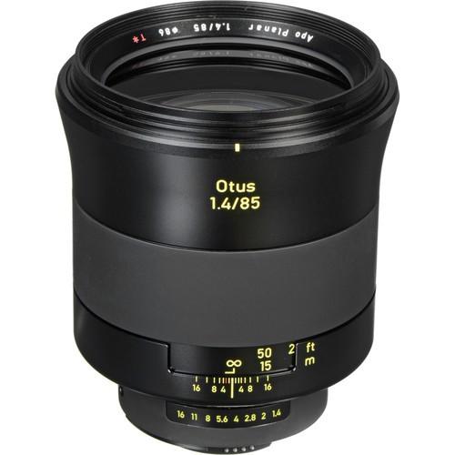 Zeiss Otus 85mm F1.4 ZF.2 für Nikon F - Frontansicht