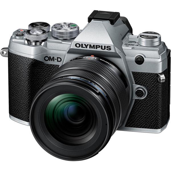 Olympus OM-D E-M5 Mark III Kit mit 12-45mm Objektiv Silber