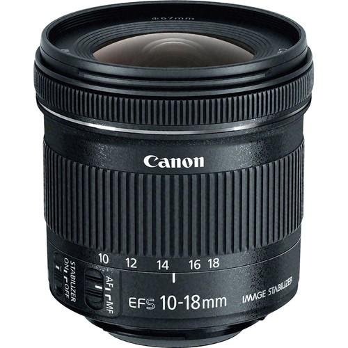 Canon EF-S 10-18mm Objektiv - Frontansicht