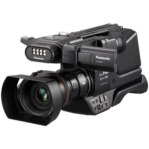 Panasonic HC-MDH3E Full HD Camcorder - Schrägansicht