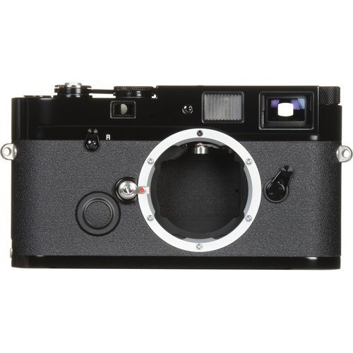 Leica MP 0.72 Rangefinder Kamera schwarz - Frontansicht