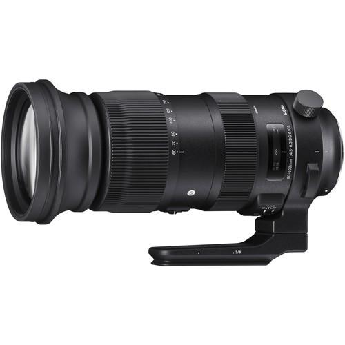 Sigma 60-600mm f/4.5-6.3 DG OS HSM Sports Objektiv für Canon EF - Frontansicht