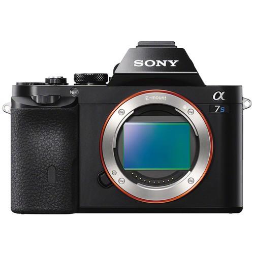 Sony Alpha 7S Gehäuse - Frontansicht