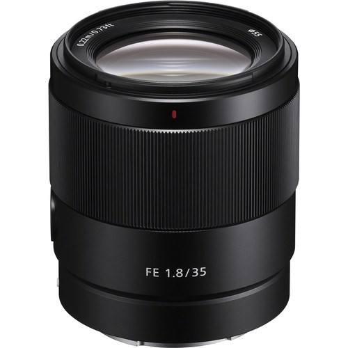 Sony FE 35mm f/1.8 Objektiv - Frontansicht