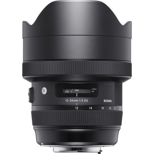 Sigma AF 12-24mm DG HSM Art für Canon - Frontansicht