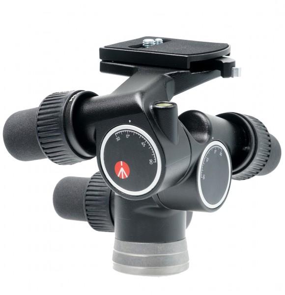 Manfrotto 405 Getriebeneiger Pro Digital - Schrägansicht
