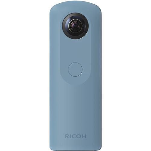 Ricoh Theta SC 360° Kamera blau - Frontansicht
