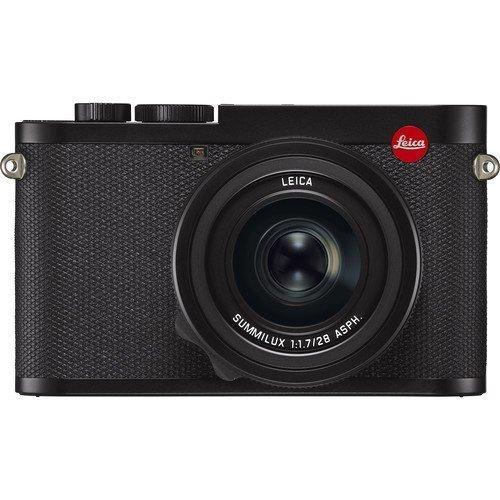 Leica Q2 Gehäuse schwarz - Frontansicht