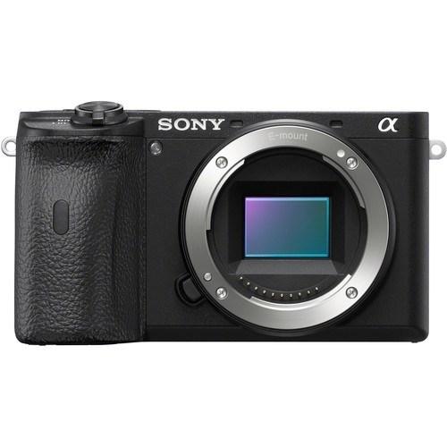 Sony Alpha 6600 Gehäuse schwarz - Frontansicht