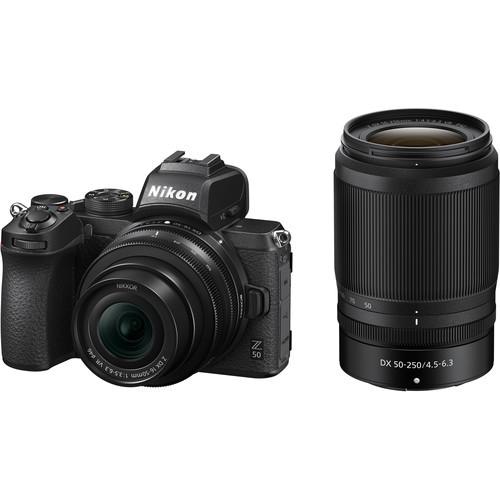 Nikon Z50 Kit mit DX 16-50mm & 50-250mm Objektiv