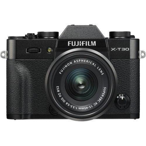 Fujifilm X-T30 Kit mit 15-45mm Objektiv - Frontansicht