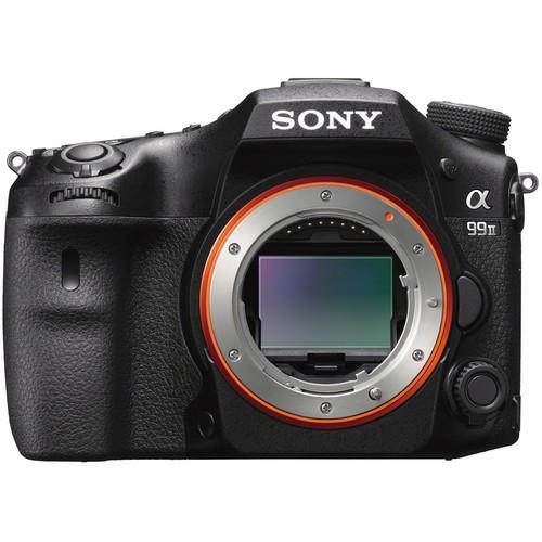 Sony Alpha 99 Mark II Gehäuse - Frontansicht