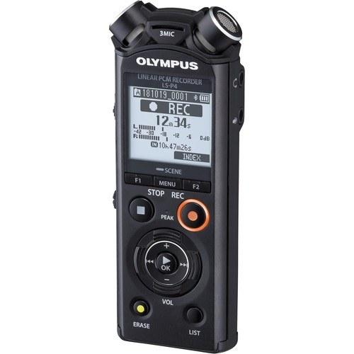 Olympus LS-P4 Audio Recorder - Schrägansicht