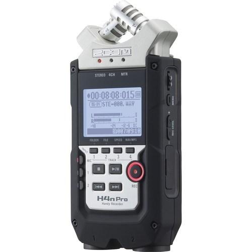 Zoom H4n Pro 4-Channel Handy Recorder - Schrägansicht