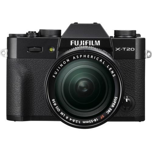 Fujifilm X-T20 Kit mit XF 18-55mm Objektiv - Frontansicht