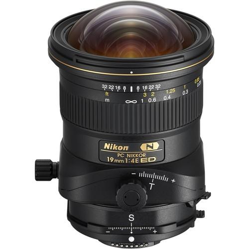 Nikon PC Nikkor 19mm f/4E ED Objektiv - Frontansicht