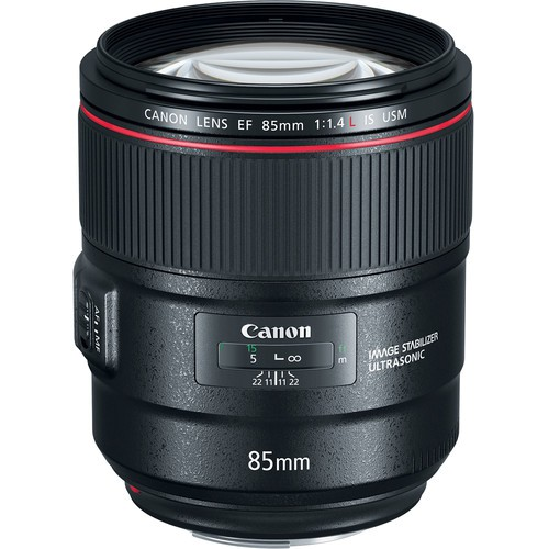Canon EF 85mm f/1.4L IS USM Objektiv - Frontansicht