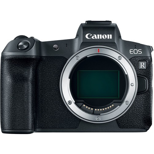Canon EOS R Gehäuse inkl. Adapter EF - EOS R - Frontansicht
