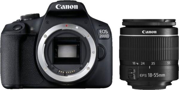Canon EOS 2000D Kit mit EFS 18-55 III