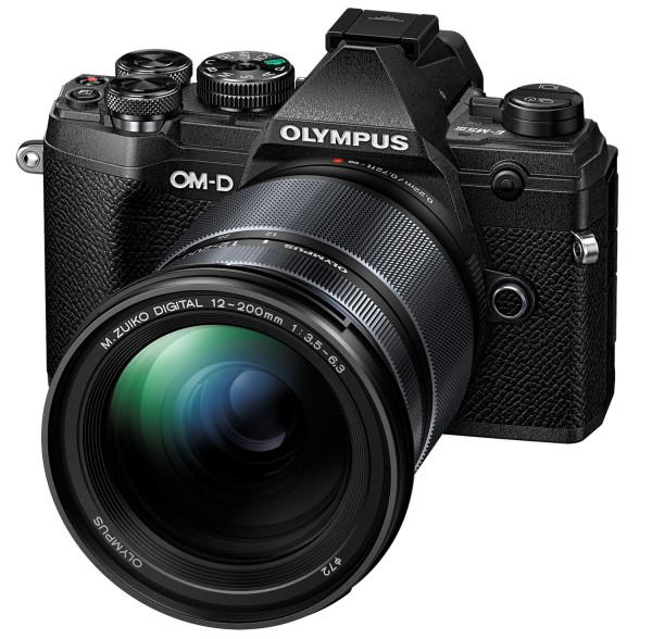 Olympus OM-D E-M5 Mark III Kit mit 12-200mm Objektiv schwarz