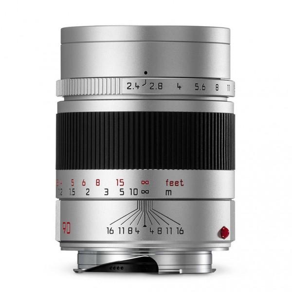 Leica Summarit-M 90mm f/2.4 Objektiv silber 11685