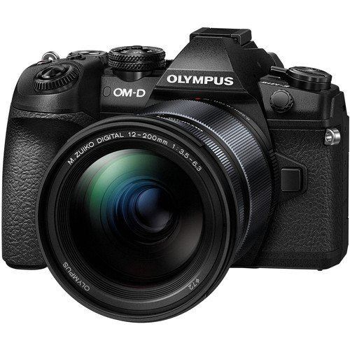 Olympus OM-D E-M1 Mark II Kit - Schrägansicht