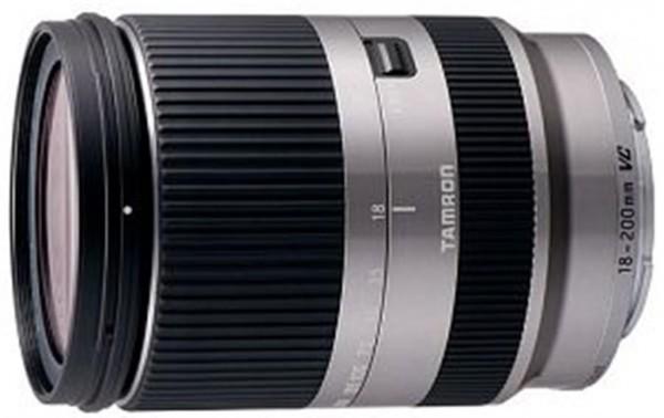 Tamron 18-200mm f/3.5-6.3 Di III VC Objektiv silber für Sony E