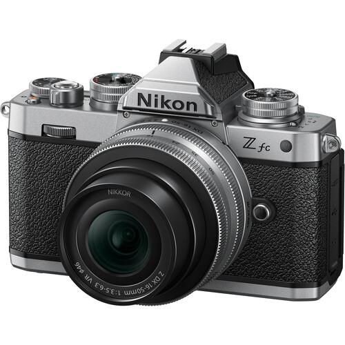 Nikon Z fc Kit mit Z DX 16-50mm f/3.5-6.3 VR Silver Edition