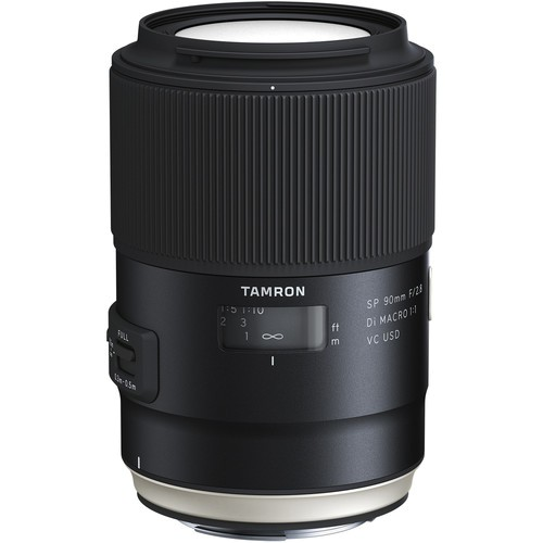 Tamron SP AF 90mm f/2.8 DI VC USD Macro Objektiv für Canon (F017E)
