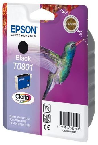 Epson T0801 Tintenpatrone schwarz
